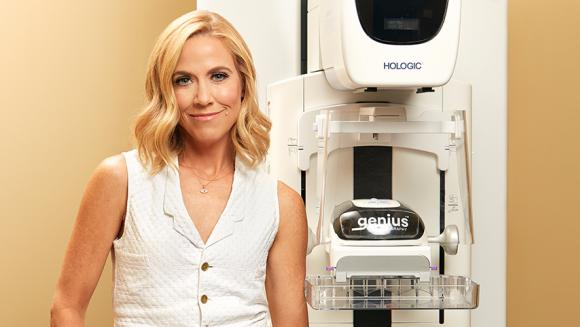 Sheryl Crow is spokesperson for Hologic and the Genius™ 3D MAMMOGRAPHY™ exam